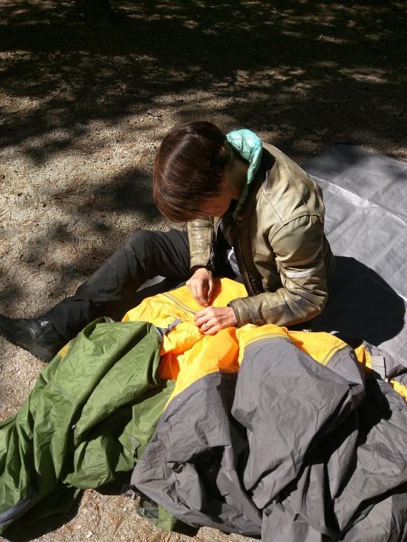 camping sewing